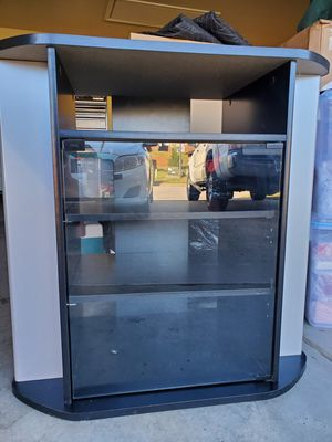 Corner TV stand and storage entertainment Cabinet for Sale in Huntsville, AL