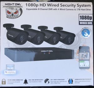 Night owl 1080p security camera for Sale in Hickory Creek, TX