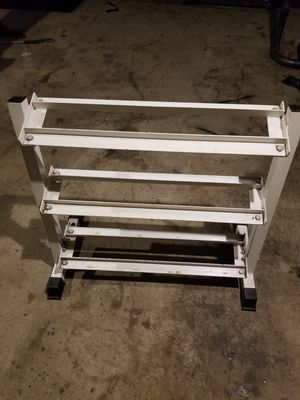 Dumbbell weight rack for Sale in New Alexandria, PA
