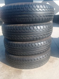 235/80/16 ST 10PLY TRAILER TIRES 90% LIFE PRICE $180 SET for Sale in Santa Ana,  CA