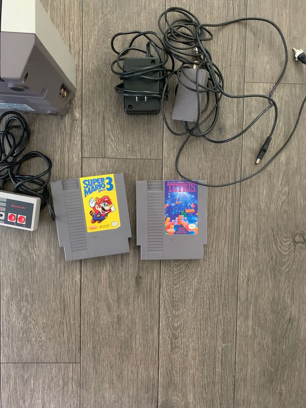 Nes with two games