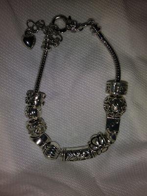 All Sterling Silver Charm Bracelet for Sale in Detroit, MI