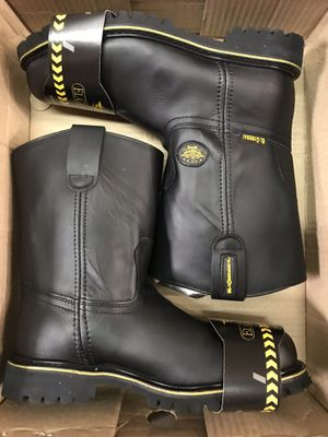 El General Steel Toe Work Boots Size 12.5-13 for Sale in Downey, CA
