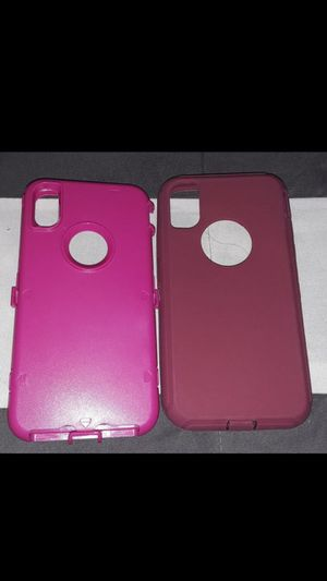 New Case double Pink. Iphone X for Sale in Fresno, CA