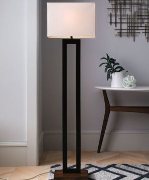 Brand new Floor Lamp w/ White shade for Sale in Phillips Ranch, CA