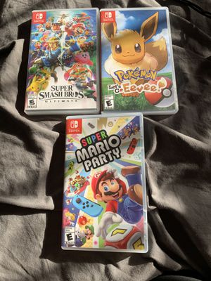 Nintendo switch games for Sale in Carlsbad, CA