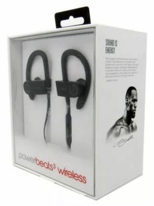 Powerbeats 3 Wireless In-Ear Headphones - Black - Original for Sale in Hialeah, FL