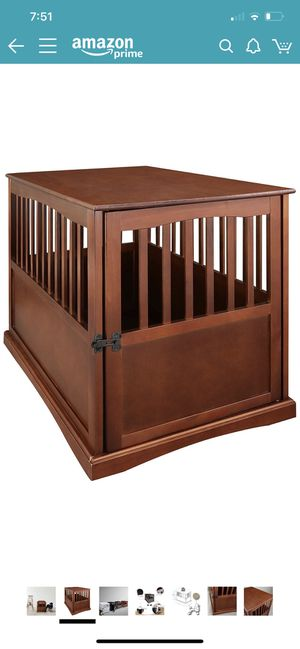 Large wood dog cage for Sale in Greenville, SC