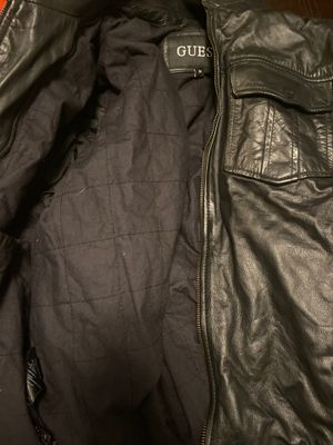 Guess leather jacket (medium) for Sale in Anaheim, CA