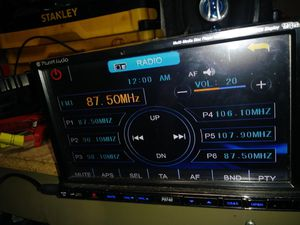 """Planet Audio Double DIN Bluetooth In-Dash DVD/CD Car Stereo Receiver w/ 6.2"""" LCD Touchscreen, Front 3.5mm & USB Auxiliary Inputs for Sale in Indianapolis, IN"""