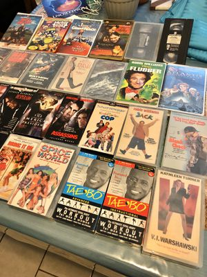VHS MOVIES (Garland) for Sale in Garland, TX