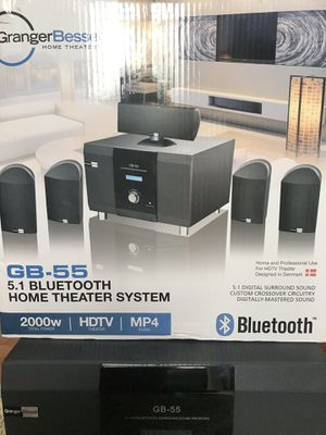 GRANGER BESSEL HOME THEATER SYSTEM (BLUETOOTH) for Sale in Nokesville, VA
