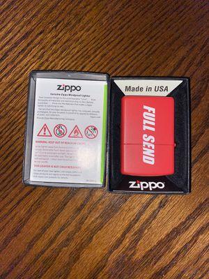 Full send ZIPPO NEW for Sale in Audubon, NJ