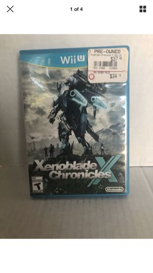 Xenoblade Chronicles X Nintendo Wii U for Sale in Oceanside, NY