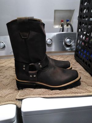 Mexican Leather Work Boots-Bota de Mexico de Piel for Sale in Orange, CA