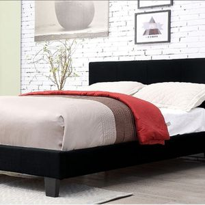QUEEN BED/FRAME MATTRESS NOT INCLUDED NEW IN BOX FINANCIAMIENTO DISPONIBLE for Sale in Fullerton, CA