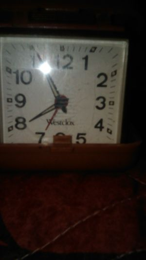 Antique folding alarm clock for Sale in Fairfield, OH