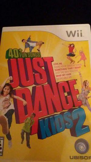 JUST DANCE KIDS 2 (Nintendo Wii + Wii U) for Sale in Lewisville, TX