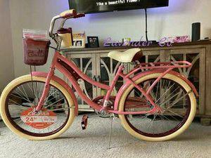 "Huffy 24"" Nel Lusso Girls Cruiser Bike, Pink Blush Powder 24 inch for Sale in Dallas, TX"