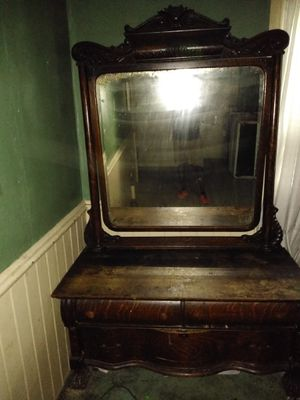 Antique mirror dresser for Sale in Smyrna, TN