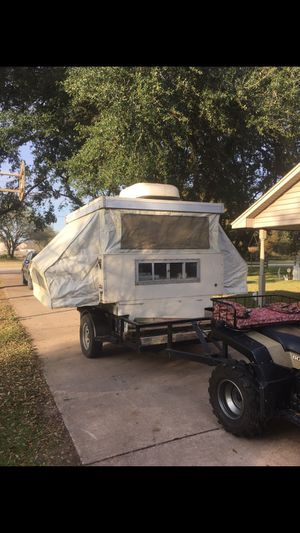 Pop up camper. Deer blind Deer lease camper for Sale in Cypress, TX