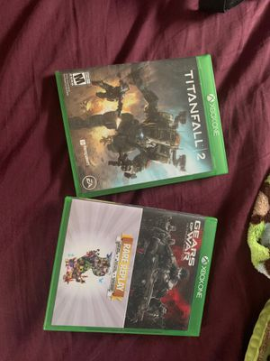Xbox one 3 games 2 in one for Sale in Glenshaw, PA