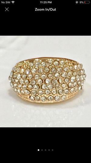Gold plated sapphire ring for Sale in Silver Spring, MD