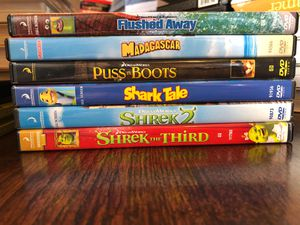 Dreamworks Shrek Creators Pack DVDs for Sale in Apex, NC