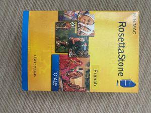 Rosetta Stone - French for Sale in San Juan Capistrano, CA