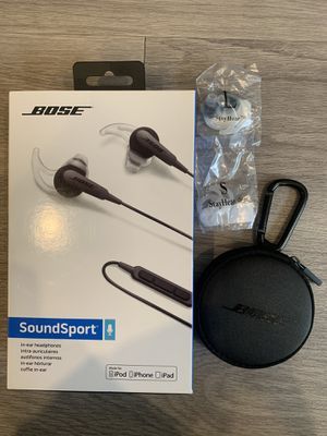 Bose Sound Sport Headphones for Sale in Edgewater, NJ