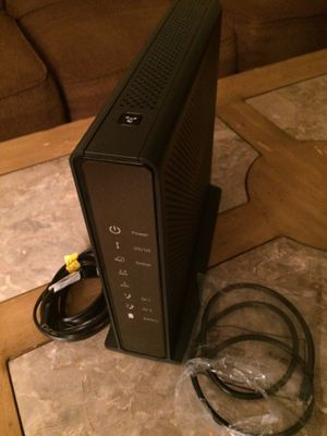 NETGEAR AC1900 Cable Modem Voice Router Model C7100V, Good working order and condition for Sale in Severn, MD