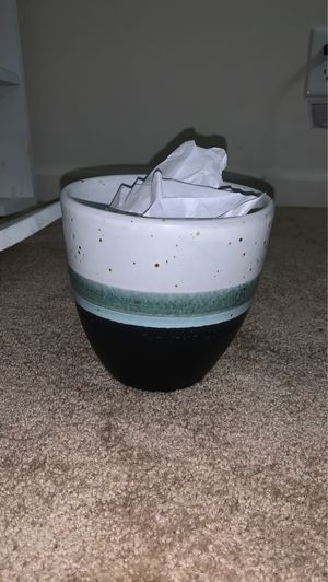 Small blue teal planter pot for Sale in San Jose, CA