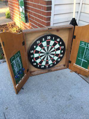 Cabinet dart board for Sale in Virginia Beach, VA