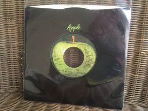 "George Harrison ""Give Me Love (Give Me Peace On Earth)"" 7"" Single for Sale in Menifee, CA"