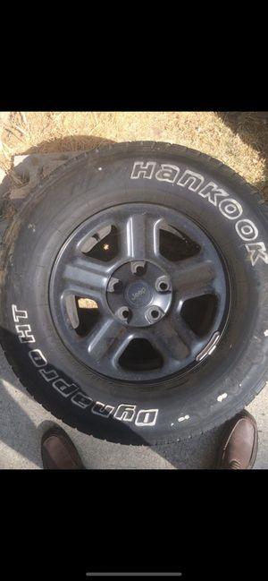 """$40 Each Jeep 16"""" Black Steel Metal Wheels Rims for Sale in Los Angeles, CA"""