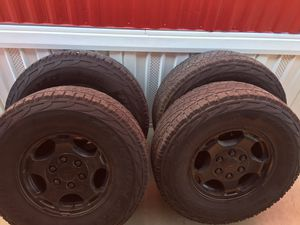Chevy Stock Rims and Tires for Sale in Bakersfield, CA