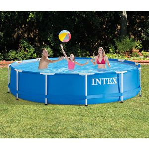 """Intex 12' x 30"""" Metal Frame Above Ground Pool for Sale in McDonald, PA"""