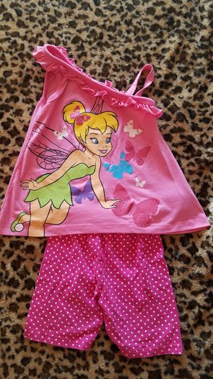 Girl's Tinkerbell Outfit. BRAND NEW! Size 6. for Sale in Clovis, CA