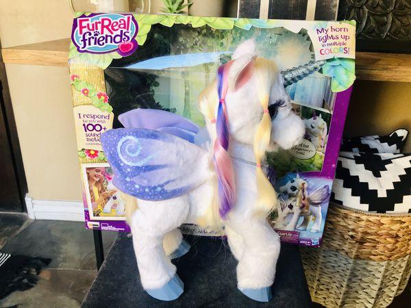 FurReal Friends Star Lily Magical Unicorn Interactive Plush Pet