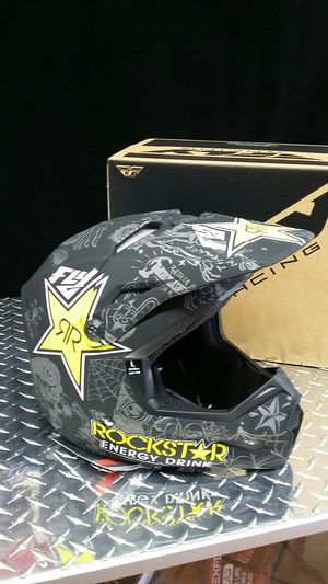 Rockstar dirt bike helmet DOT approved for Sale in Los Angeles, CA
