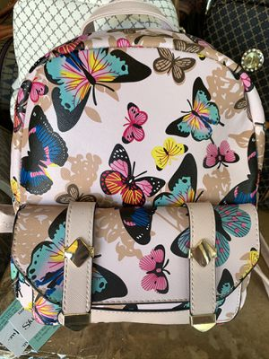 fashion butterfly backpack $18 each for Sale in Alhambra, CA