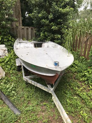 1955 Orlando clipper 15 w/ trailer for Sale in Valrico, FL