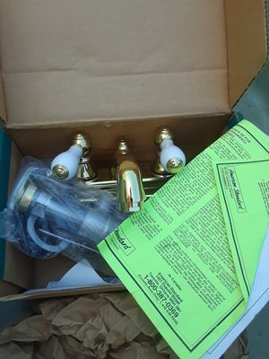 Finished brass faucet for Sale in Weston, MO
