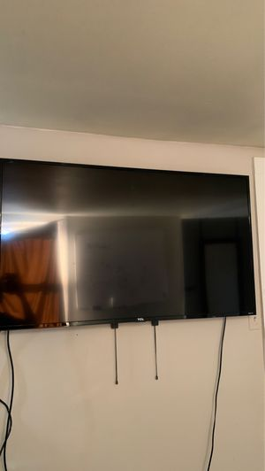 55 inch TCL Roku Tv *No remote* for Sale in Morristown, NJ