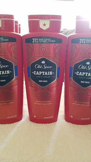 Old spice captain body wash for Sale in San Diego, CA