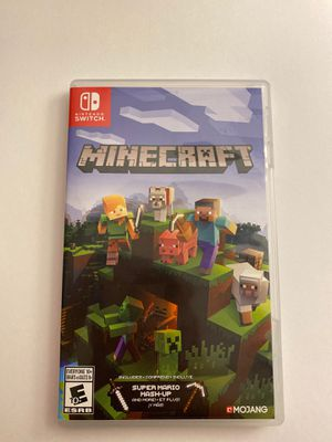 Nintendo Switch Game (Minecraft) for Sale in Henderson, NV