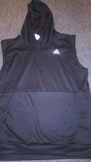 Sleeveless hoodie (Adidas) XL for Sale in Del Valle, TX