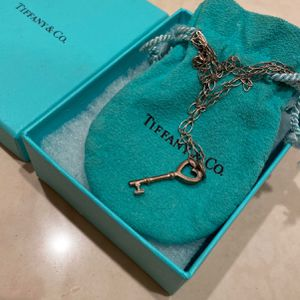 Tiffany & Co. Necklace W/ Small Heart Key Pendant for Sale in Fountain Valley, CA