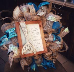 Majestic Mermaid wreath! for Sale in Oceano, CA