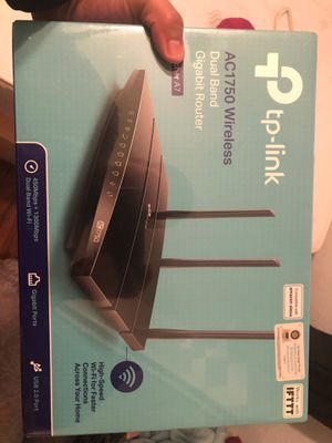 New TP Link AC1750 wireless router for Sale in Austin, TX